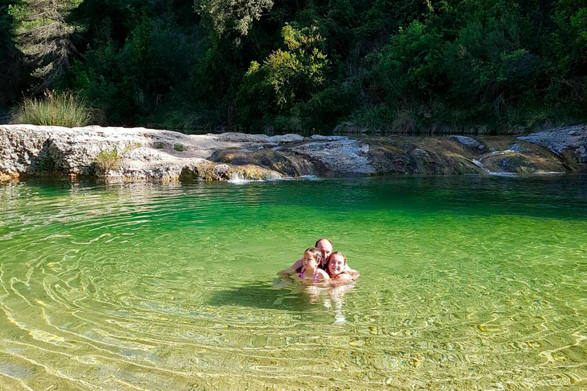 La Pesquera del río Ulldemó en Beceite