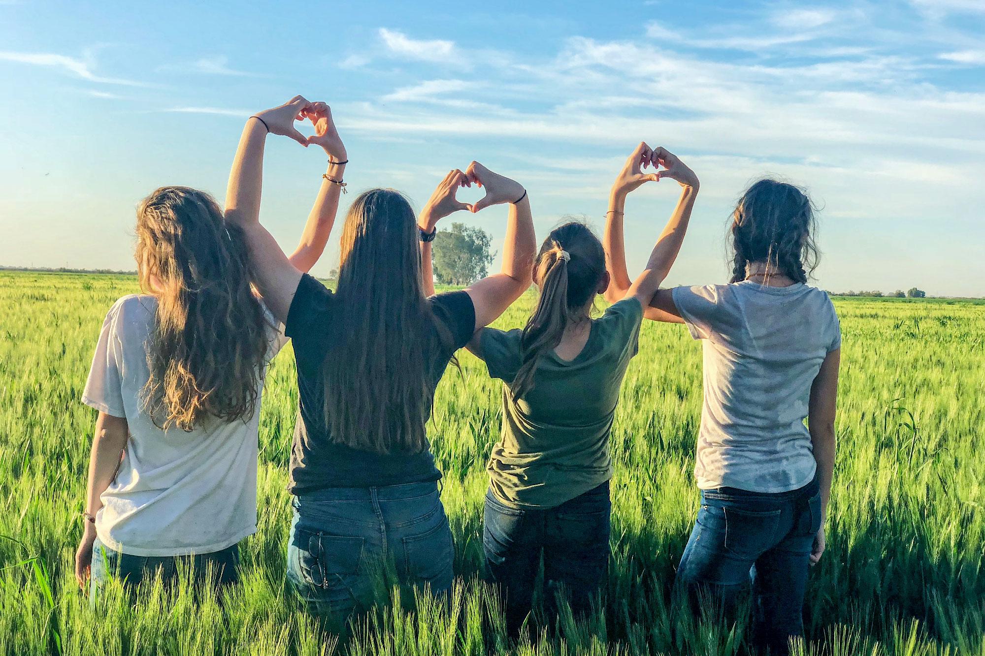 Escapada con amigos en grupo